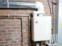 Full boiler installation - commercial.